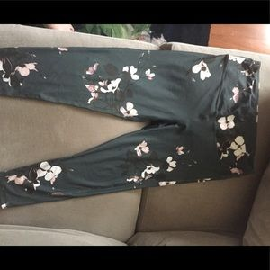 Albion Fit XL orchid high waisted leggings